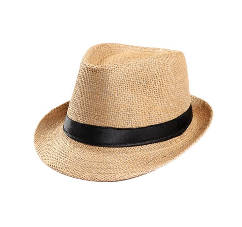 Paper made fedora hat for men