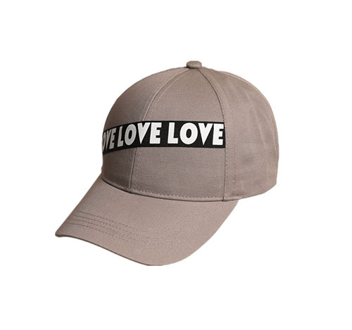 Sunscreen baseball cap with letters