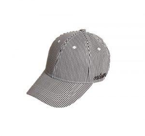 Summer baseball cap with strips
