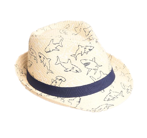 Paper made fedora hat for children
