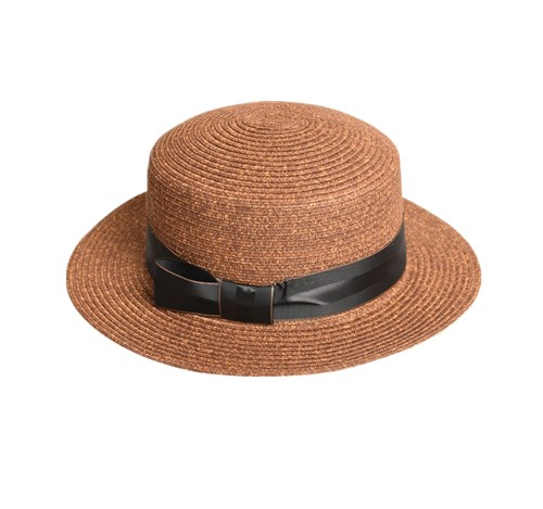 Straw Boater Hat Womens