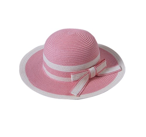 Fedora straw hat for kids