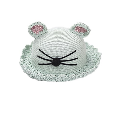 Lovely fedora straw hat for kids