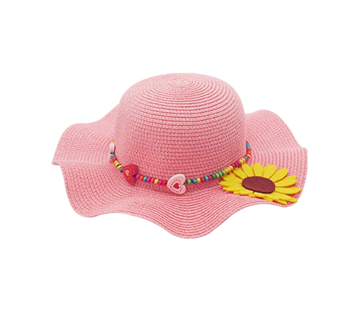Braided fedora hat for kids