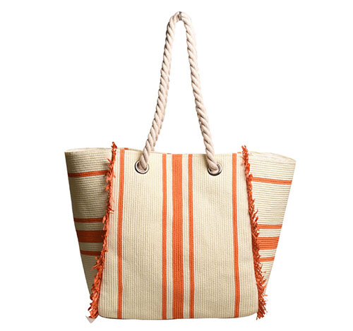 New arrival striped tote bag