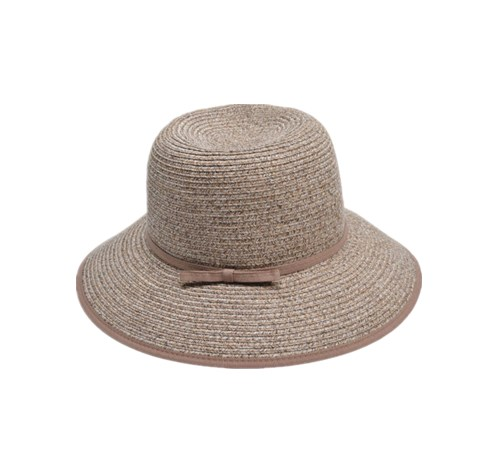 Paper bucket hat with bow