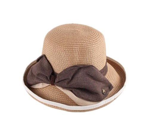 Handmade Straw Bucket Hat