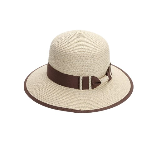 Wide Brim Straw Cap